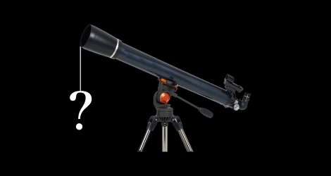 What can I see with a telescope?